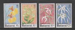 Monsterrat MNH Michel Nr 568/71 From 1985 Catw 5.00 EUR - Montserrat
