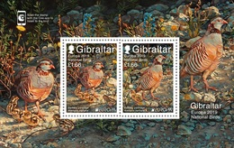 Gibraltar 2019 Cept PF Block+stamps - 2019