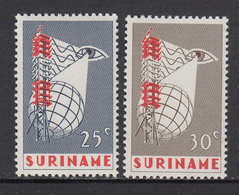 Suriname MNH NVPH Nr 460/61 From 1966 / Catw 0.60 EUR - Suriname