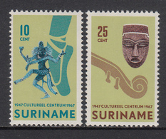 Suriname MNH NVPH Nr 479/80 From 1967 / Catw 0.60 EUR - Suriname