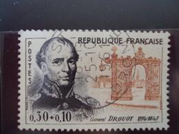"""à Partir De 1960 - Timbre Oblitéré N° 1298     """" Drouot      """"   2         Photo   1 - Oblitérés"""