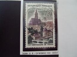 """à Partir De 1960 - Timbre Oblitéré N° 1308     """" Cathédrale De Thann , Haut Rhin      """"    0.65 - Oblitérés"""