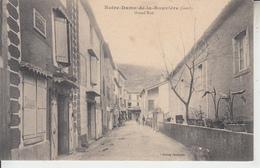 NOTRE DAME DE ROUVIERE ( Gard ) - Grand'Rue   PRIX FIXE - Notre-Dame-de-la-Rouvière