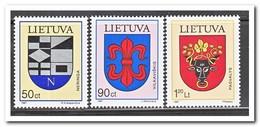 Litouwen 1997, Postfris MNH, City Coat Of Arms - Litouwen
