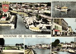 1 Cpsm Souvenir De Blaye - Blaye