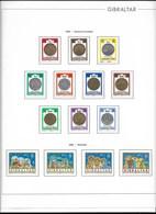 Gibraltar. Colección De Los Años 1989 A 2003 Mas  Minipliegos Del Tema Europa Con Valor De Catalogo De 2037 Euros - Otros - Europa