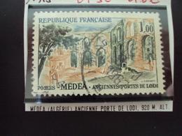 """à Partir De 1960 - Timbre Oblitéré N° 1318     """" Medea, Algérie, Porte De Lodi      """"     0.50 - Usados"""