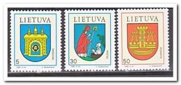 Litouwen 1993, Postfris MNH, City Coat Of Arms - Litouwen