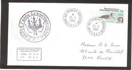 """E48 - TAAF - PO 98 Du 25.3.1984 KERGUELEN - Passage Du Chalutier URSS """" GEROÏ ADZIMUSHKAYA """" - Terres Australes Et Antarctiques Françaises (TAAF)"""