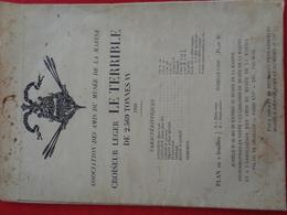 Plan Croiseur Léger Le Terrible (1931) - Máquinas