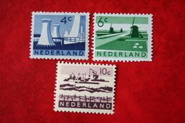 Landschapszegels NVPH 792-794 (Mi 784 790 800) 1962 1963 POSTFRIS / MNH / ** NEDERLAND / NIEDERLANDE - 1949-1980 (Juliana)