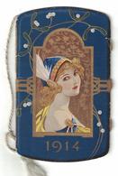 CALENDARIETTO  PRIMARIO CINEMATOGRAFO SALONE EDISON 1914 - Calendari
