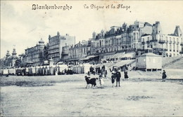 BLANKENBERGE - La Digue Et La Plage - N'a Pas Circulé - Edition Joseph Scheers, Blankenberghe - Blankenberge