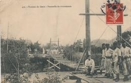 I80 - 38 - LA TRONCHE - Isère - Travaux Du Génie - Passerelle De Circonstance - La Tronche