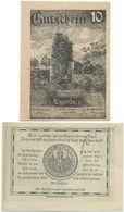 Eggenburg Bei Horn, 1 Schein Notgeld 1920, Wappen, Burg, Österreich 10 Heller - Oesterreich