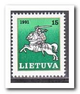 Litouwen 1991, Postfris MNH, Lithuanian Rider - Litouwen