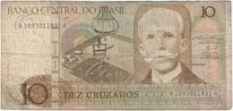Brasil - Brazil 10 Cruzados 1986 Pk 209 A Ref 8 - Brasil