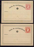 Autriche - 1867-80 - Deux Cartes De Correspondance 4 & 5 Soldi - Neuves - B/TB - - Stamped Stationery