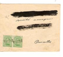 PR6371/ TP 137(2) S/L.Griffe Maisiéres Destinataire Occulté V.BXL C.d'arrivée - Postmark Collection