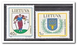 Litouwen 1995, Postfris MNH, City Coat Of Arms - Litouwen