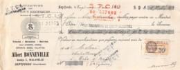13   -1006    1933    ALBERT BONNEVILLE A SEPTFONDS - M. MILOU A TRIE SUR BAISE-13   1006 - Lettres De Change