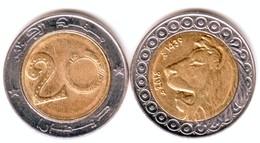 """Algerie - Pièce De 20.00 DA 2018/1439 """"Lion""""- (FDC Rouleaux De Banque). - Algérie"""