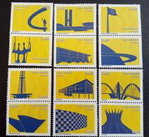 Brazil Stamp D 139 A 150 Despersonalizado Brasilia Sonho E Realidade 2010 Tourism - Brazil