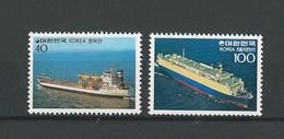 Corée Du Sud: 1110/ 1111 **Bateaux Transporteurs - Corée Du Sud