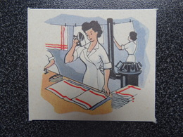 Bon Point Années 1950 Blanchisseuse Fer à Repasser - Vieux Papiers