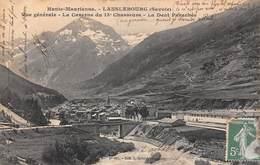 Lanslebourg (73) - Vue Générale - La Caserne Du 13e Chasseurs - La Dent Parachée - Autres Communes