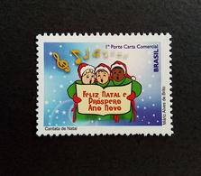 Brazil Stamp D 197 Selo Despersonalizado Coral Natal 2010 Christmas - Brazil