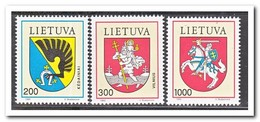 Litouwen 1992, Postfris MNH, City Coat Of Arms - Litouwen