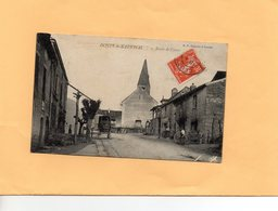 F0803 - DONZY Le NATIONAL - 71 - Route De Cluny - Francia