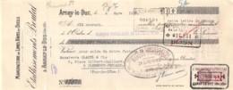 17-0879   1938 MANUFACTURE DE LIMES RAPES ET OUTILS ETS PROUTAT A ARNAY LE DUC - M. GLADEL A CLERMONT FERRAND - Bills Of Exchange