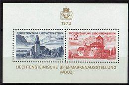 Liechtenstein 1972 # Block 9 ** - Blocchi & Fogli