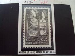 """à Partir De 1960 - Timbre Oblitéré N°  1394    """"  Moissac, Abbaye     """"     0.30 - Used Stamps"""