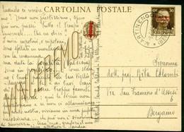 V9150 ITALIA RSI 1944 Cartolina Postale 30 C. Vinceremo Soprast., Fil. C104, Interitalia 102, Da Martinengo (BG) 8.9.44 - 4. 1944-45 Repubblica Sociale