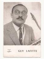 """Publicité """" Les Disques Columbia """" Guy Lafitte - Musique & Instruments"""