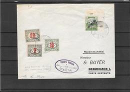 Romania 1919-Occupation Of Hungary On Fine Cover (ref807b) - Lettres 1ère Guerre Mondiale