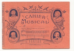 Cahier Musical - Musique & Instruments