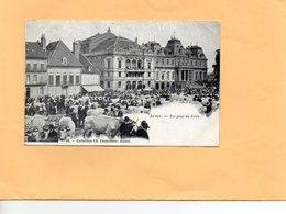 F0803 - AUTUN - 71 - Un Jour De Foire - Autun