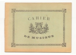 Cahier De Musique - Musique & Instruments