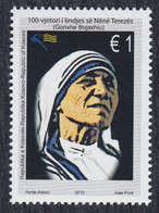 Kosovo 2010 Mother Teresa, MNH (**) Michel 167 - Kosovo