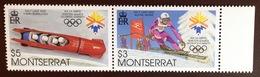 Montserrat 2002 Winter Olympics MNH - Montserrat