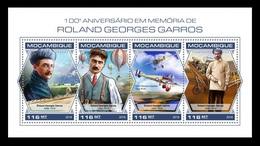 Mozambique 2018 Mih. 9739/42 Aviation. Roland Garros. Planes MNH ** - Mosambik