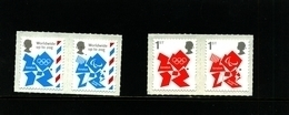 GREAT BRITAIN - 2012  OLYMPICS LOGO  SET   MINT NH - Nuovi