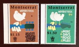 Montserrat 1994 Woodstock Anniversary MNH - Montserrat
