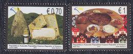 Kosovo 2010 Gastronomy, MNH (**) Michel 178-179 - Kosovo