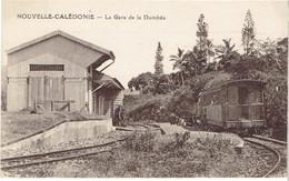 Nouvelle Caledonie La Gare De Dumbea, Train - Nueva Caledonia