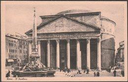 Il Pantheon, Roma, 1941 - Serta Cartolina - Panthéon